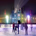 Ice rink in Hampton Palace