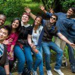 University students at Kingston